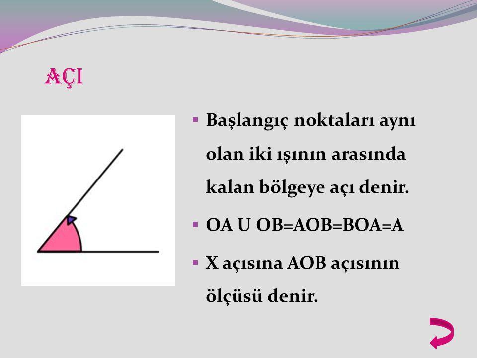 C,O,B noktaları doğrusal olduğuna göre; (5x+30)+(3x-10)=180 derecedir.