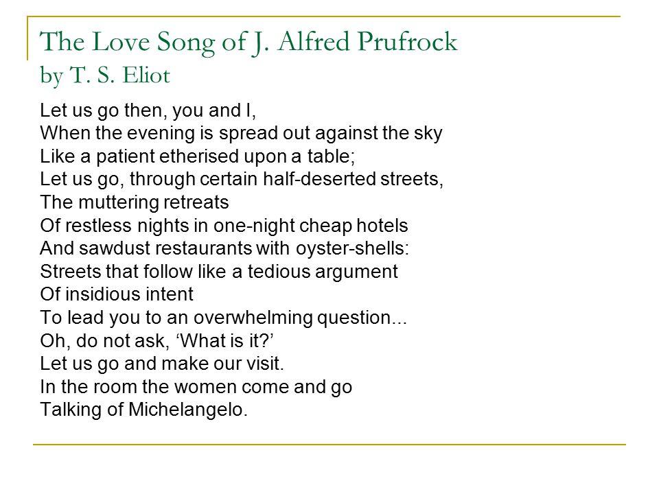 Ç.I--J.Alfred Prufrock'un Aşk Şarkısı Çev.