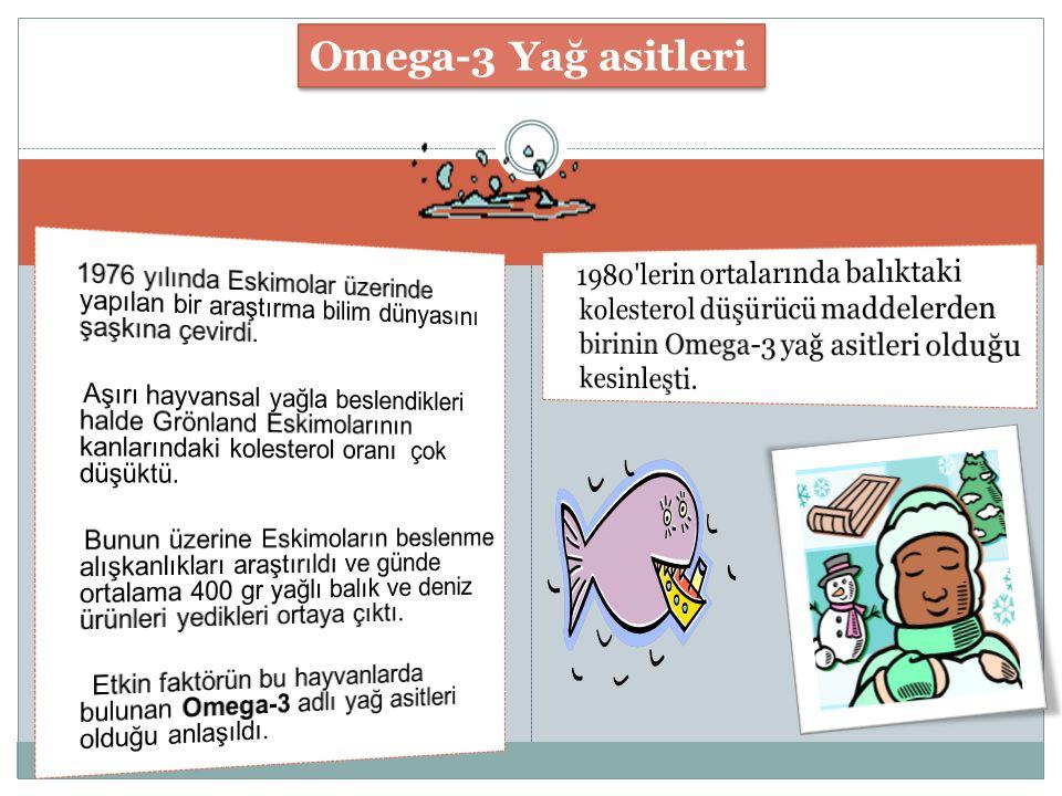 Omega-3 Yağ asitleri