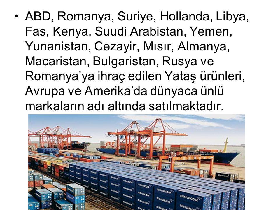 ABD, Romanya, Suriye, Hollanda, Libya, Fas, Kenya, Suudi Arabistan, Yemen, Yunanistan, Cezayir, Mısır, Almanya, Macaristan, Bulgaristan, Rusya ve Roma