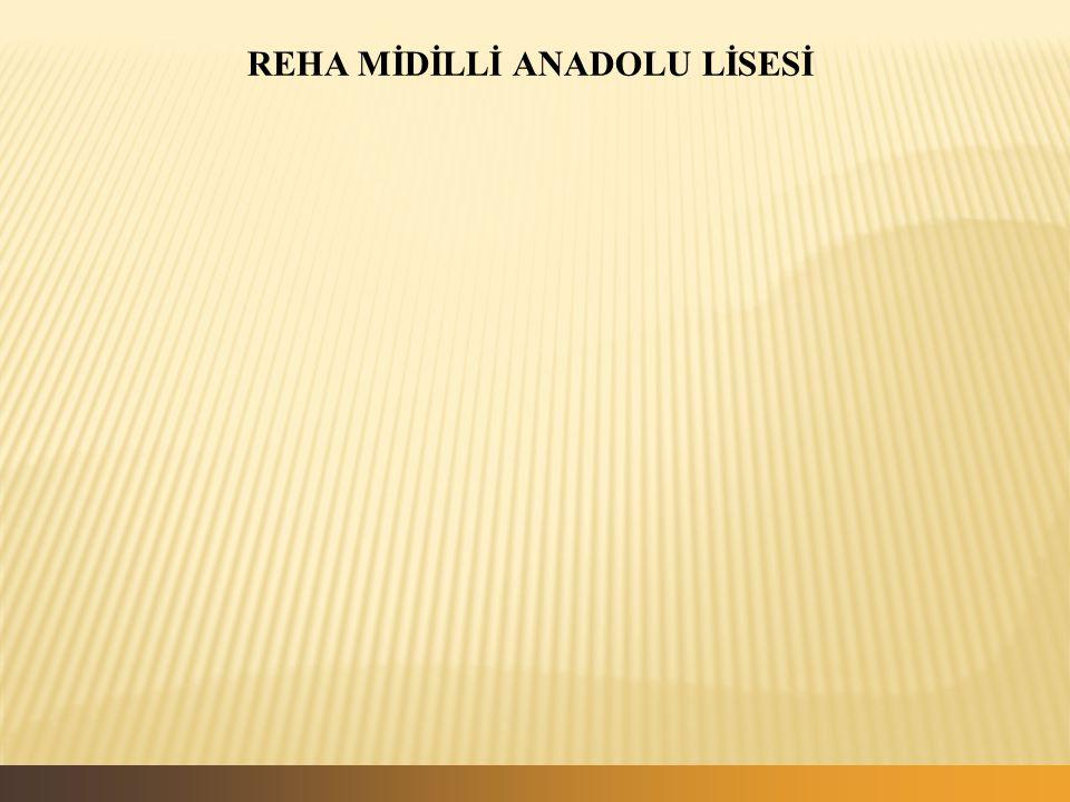 REHA MİDİLLİ ANADOLU LİSESİ