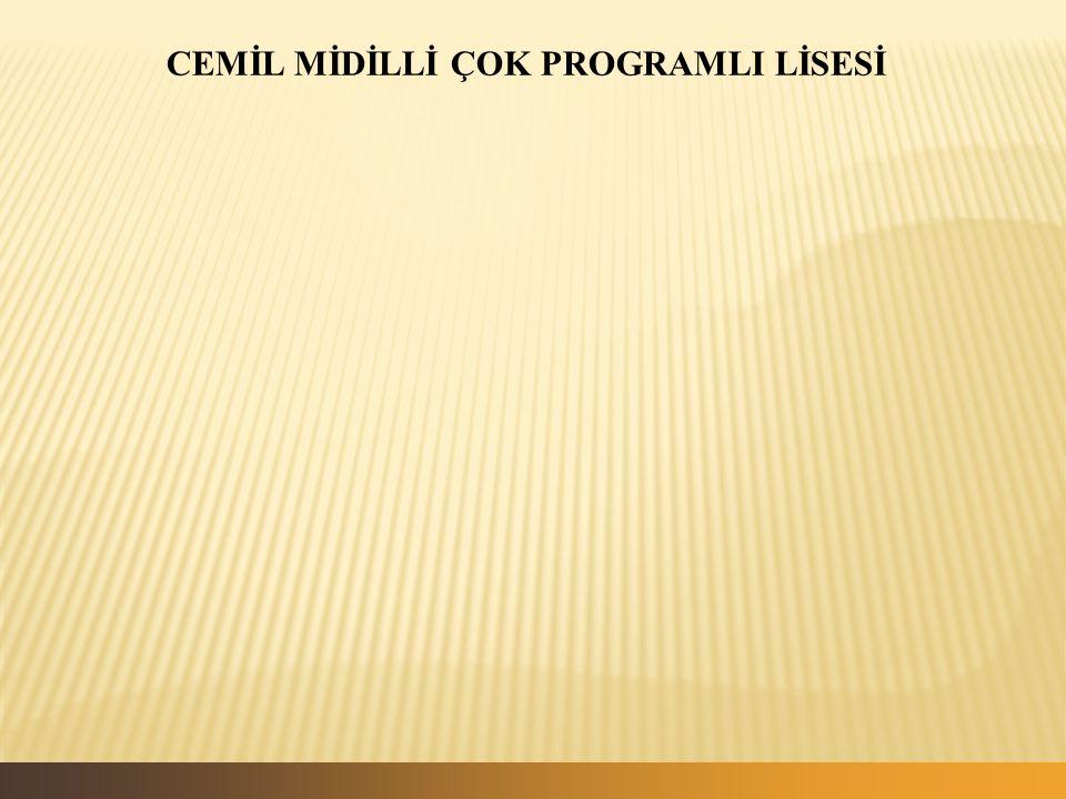 CEMİL MİDİLLİ ÇOK PROGRAMLI LİSESİ