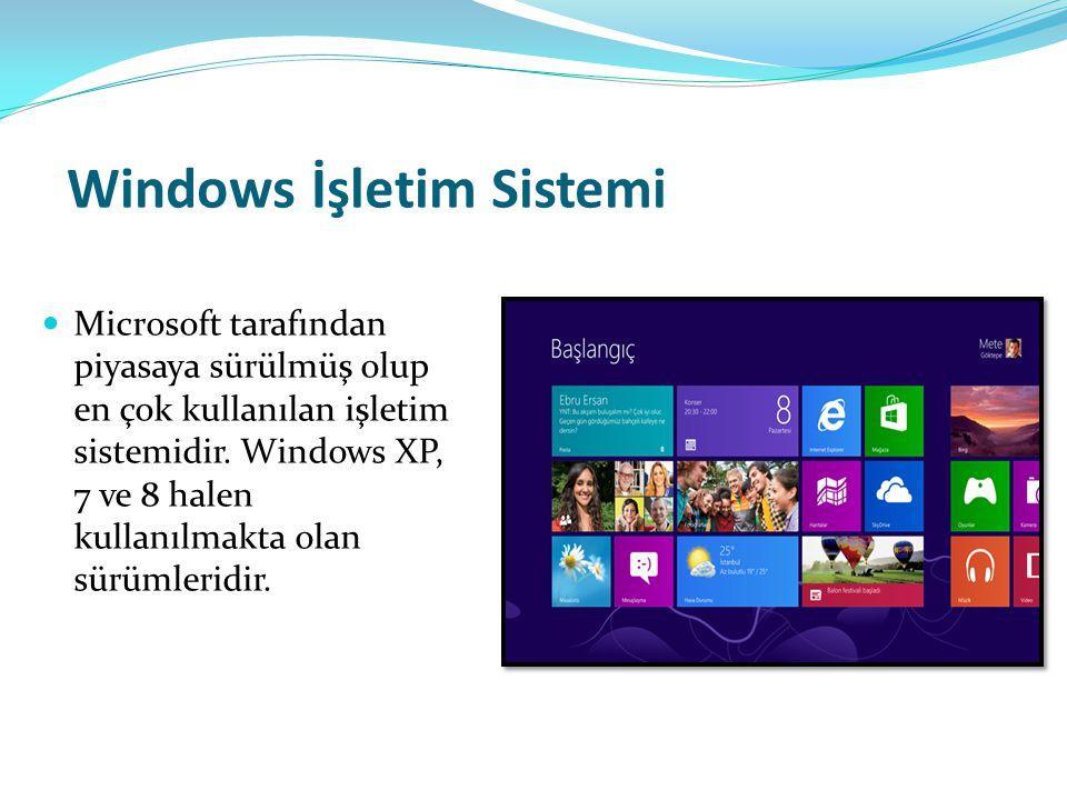Popüler Uygulama Yazılımları Microsoft Excel: Bilgisayar sistemini son derece özellikli bir elektronik hesap makinesine dönüştüren programlardır.