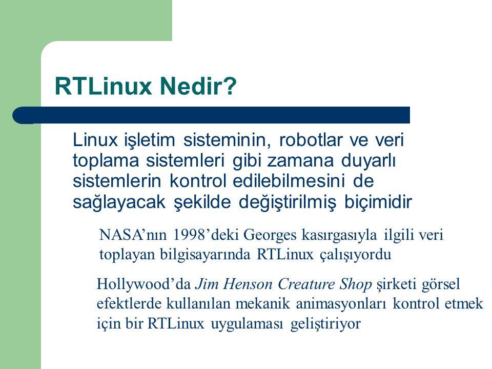RTLinux Nedir.