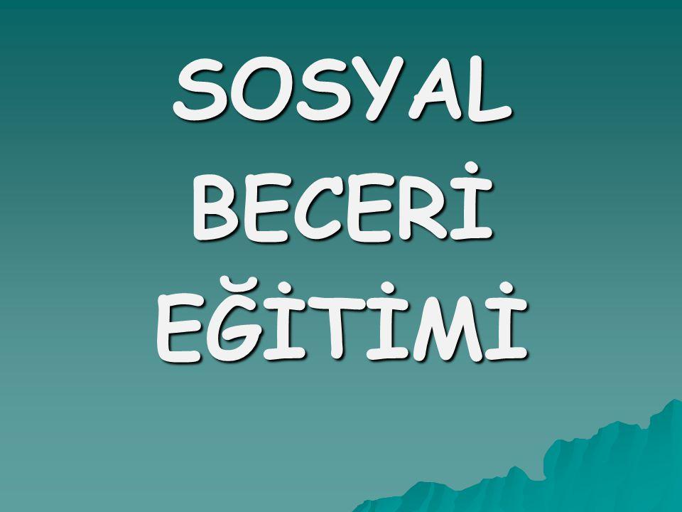 SOSYALBECERİEĞİTİMİ
