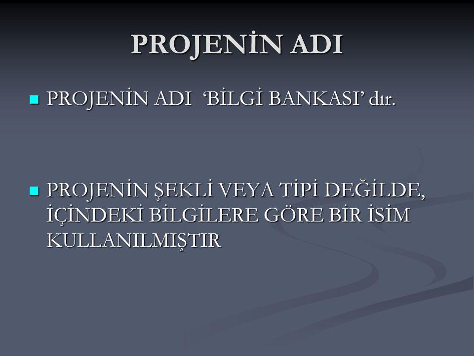 MATEMATİK PROJESİ EMRE ÜZÜMCÜOĞLU 7/C2871 BİLGİ BANKASI