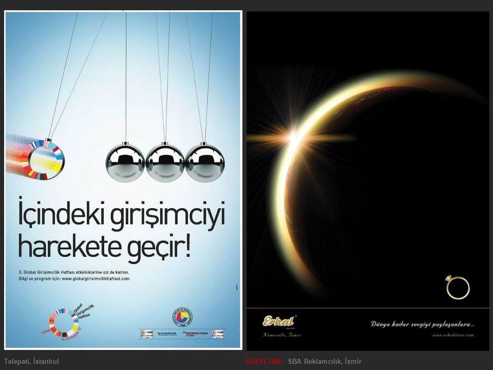 Telepati, İstanbulDÜZELTME: SBA Reklamcılık, İzmir