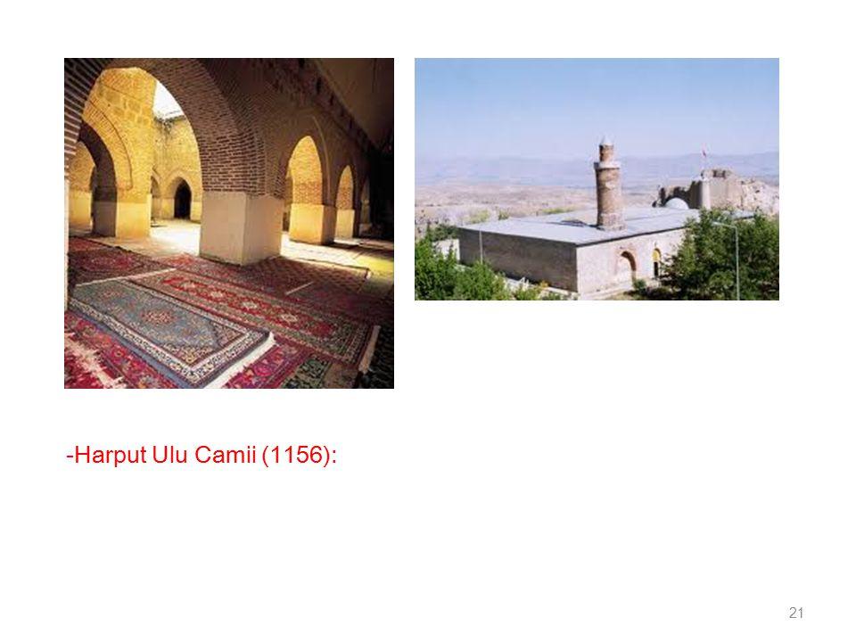 -Harput Ulu Camii (1156): 21