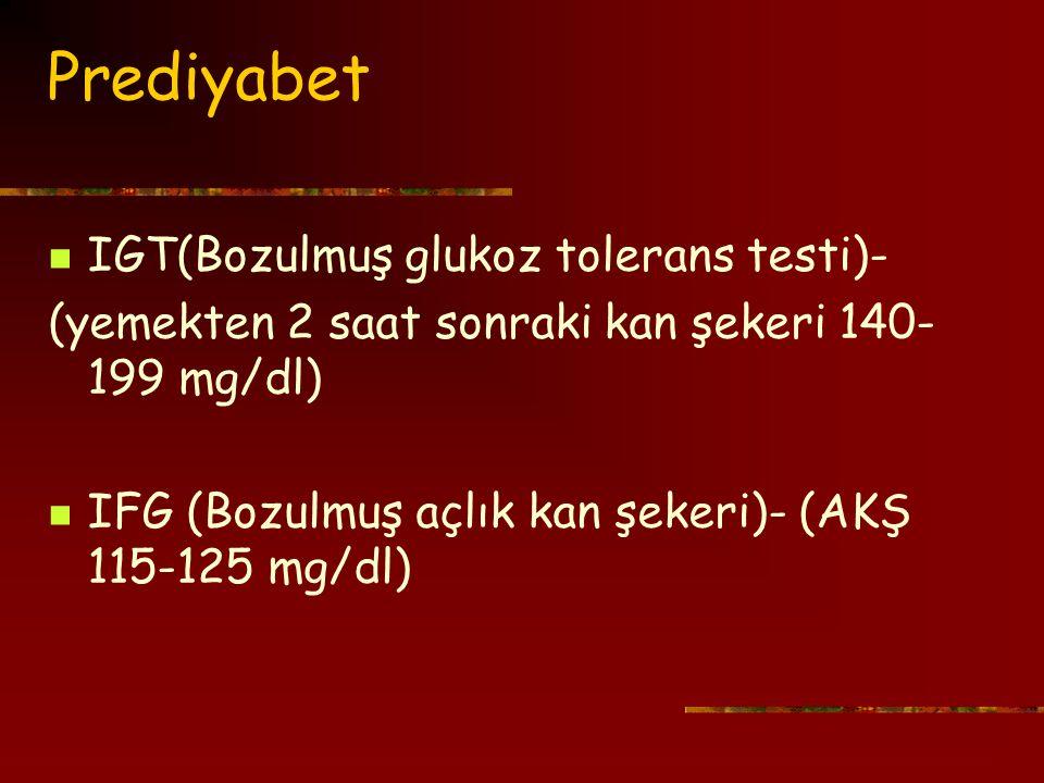 V- Mevsim IDDM insidansı yaz aylarında azalıyor.Viral etyoloji- Akut stress.