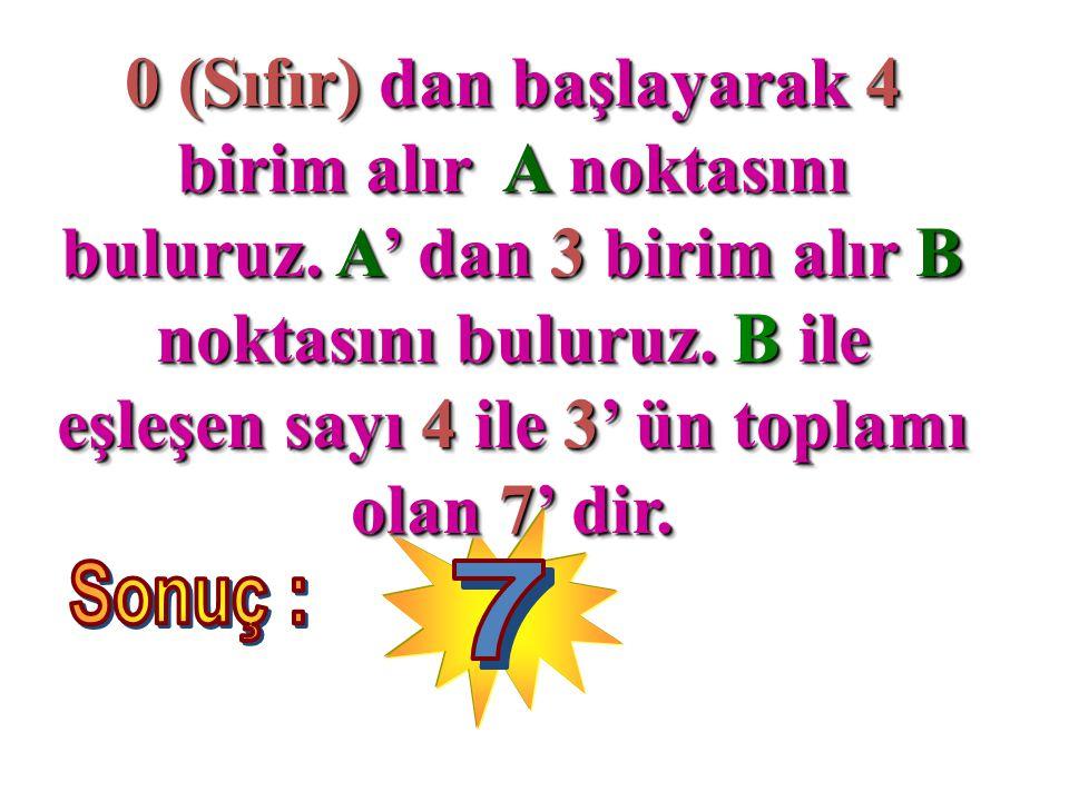 B = 6 olursa, 6 + 6 + 6 =18 ( elde 1 var ) A = 5 olursa, 5 + 5 + 5 =15 15 + 1 elde = 16 6 = B olup onlar basamağına yazılır.
