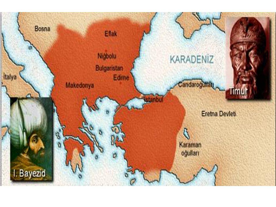 Yıldırım Beyazid Sonrası Osmanlı Devleti Yıldırım Beyazid, Ankara Savaş'na giderken, çocukları Süleyman, İsa, Mehmet, Musa ve Mehmet Çelebi'yi de yanına almıştı.