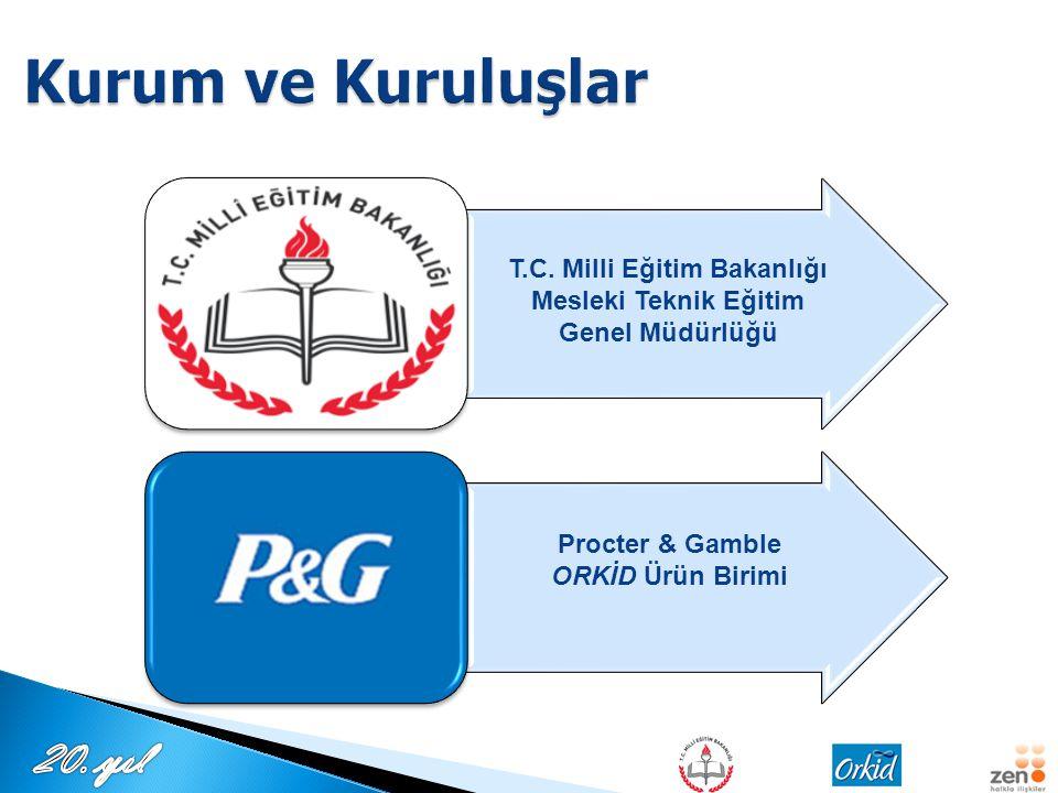 T.C. Milli Eğitim Bakanlığı Mesleki Teknik Eğitim Genel Müdürlüğü Procter & Gamble ORKİD Ürün Birimi