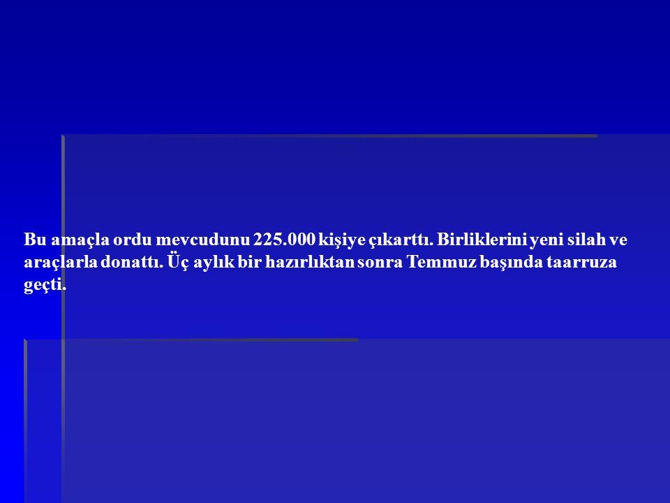 29 Ağustos gecesi Yunan ordusunun çekilme yolu bir Türk tümeni tarafından kesilecektir.