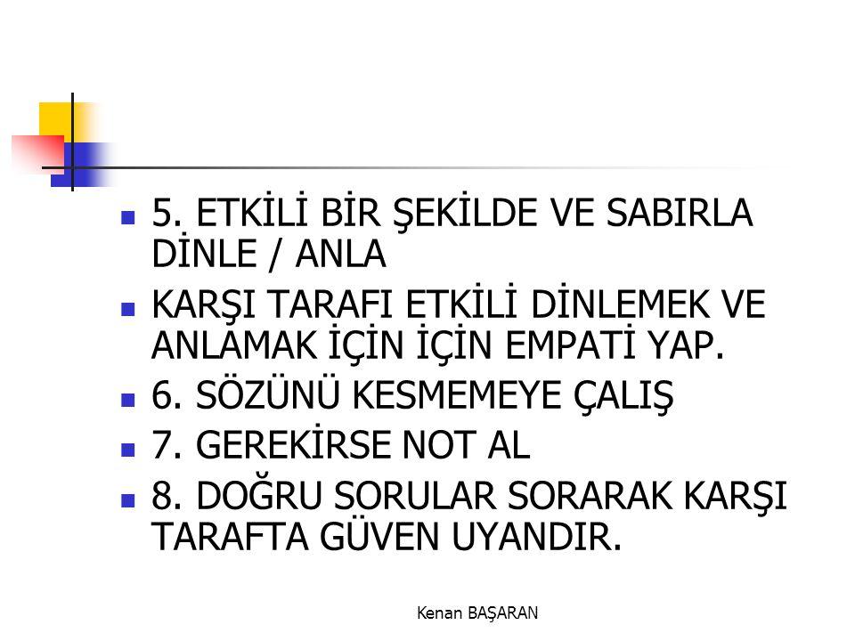 Kenan BAŞARAN 9.
