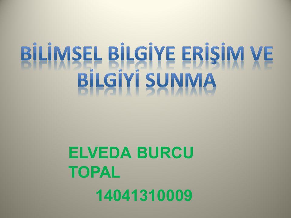 ELVEDA BURCU TOPAL 14041310009