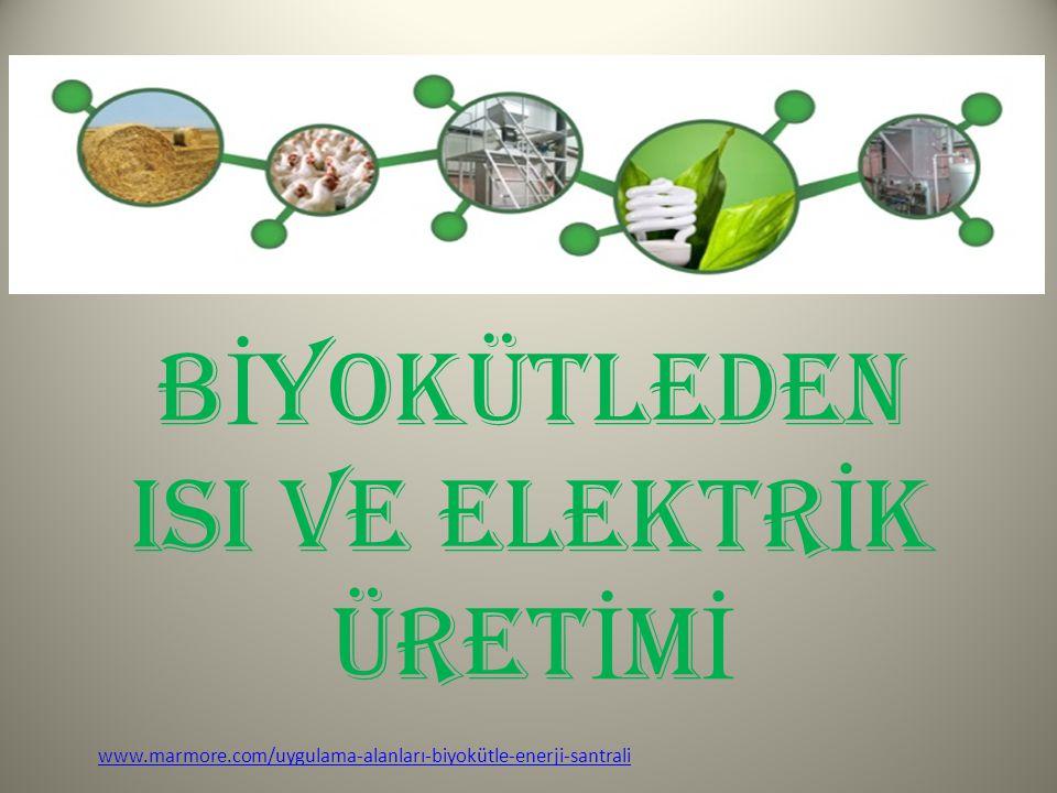 B İ YOKÜTLEDEN ISI VE ELEKTR İ K ÜRET İ M İ www.marmore.com/uygulama-alanları-biyokütle-enerji-santrali