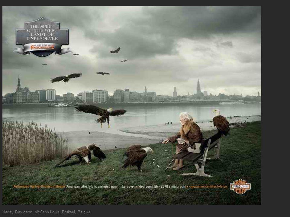 Harley Davidson, McCann Lowe, Brüksel, Belçika