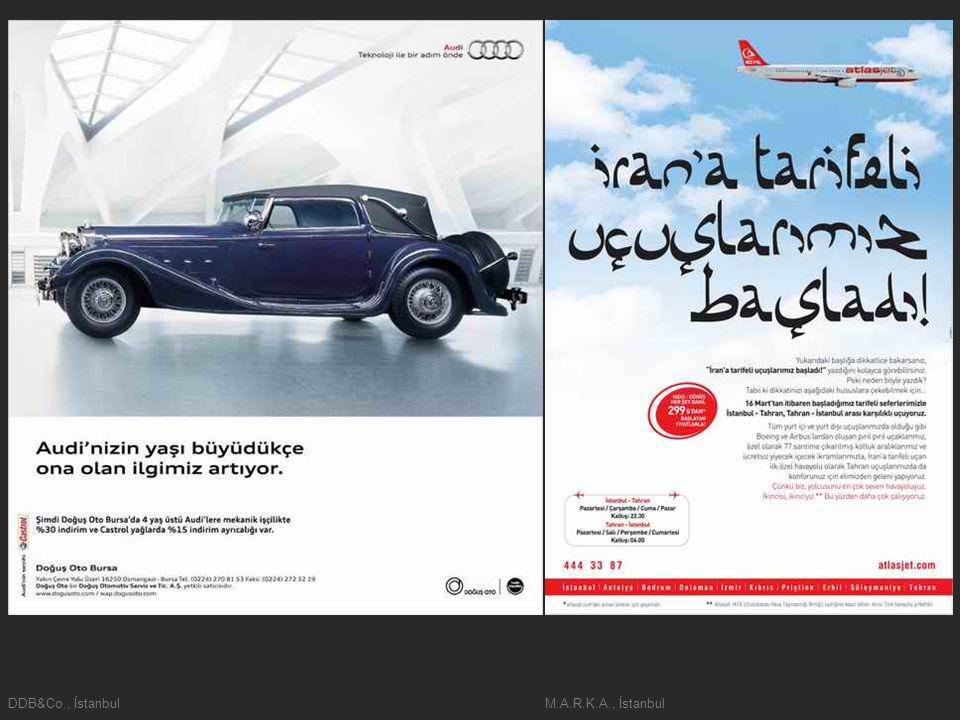 DDB&Co., İstanbulM.A.R.K.A., İstanbul