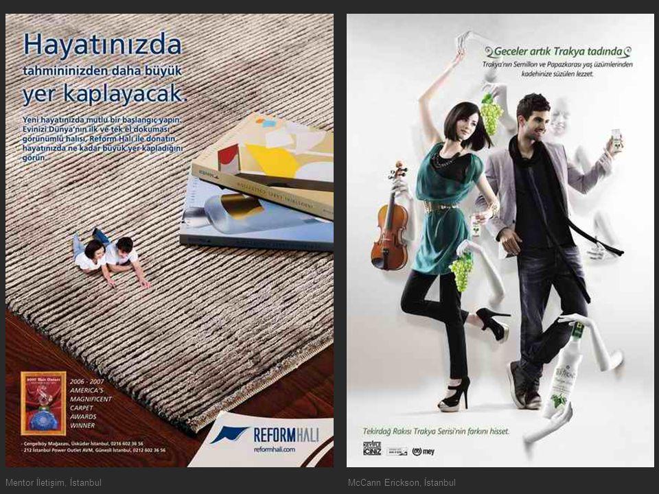 Mentor İletişim, İstanbulMcCann Erickson, İstanbul