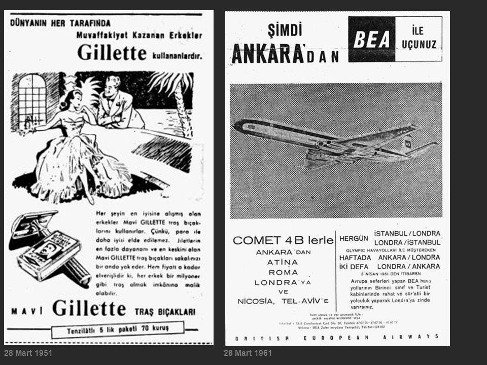 28 Mart 195128 Mart 1961