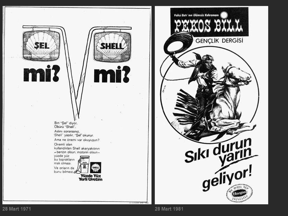 28 Mart 197128 Mart 1981