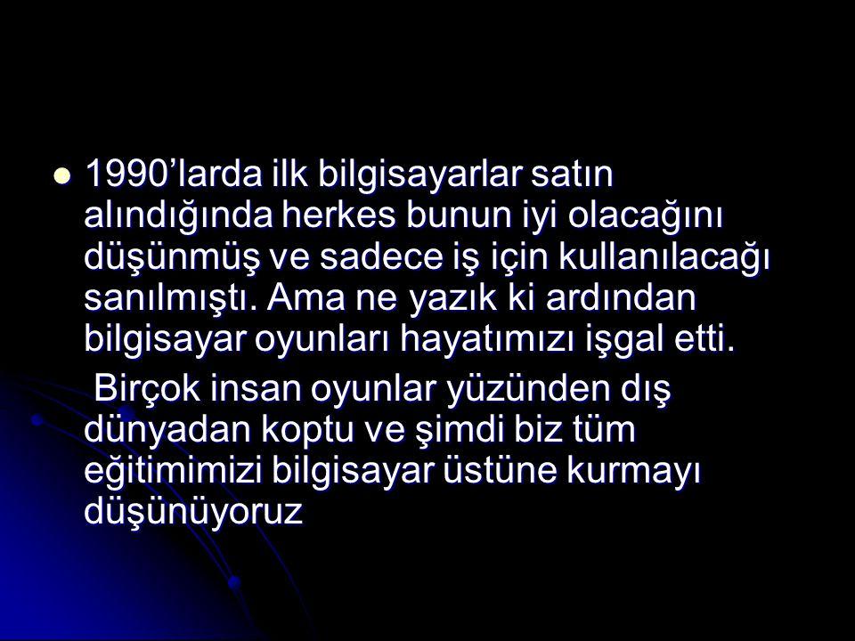 İntel'in verdiği örnek ne kadar güzel olsa da Türkiye'de böyle bir olay sadece bir hayal ürünüdür.
