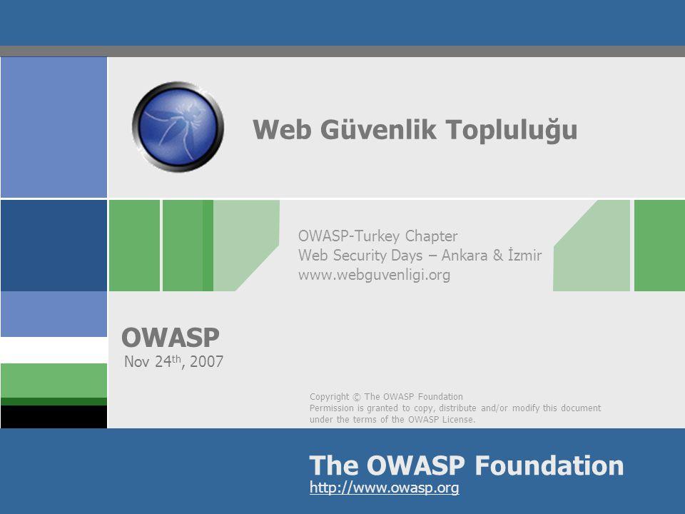 OWASP 2 İçerik  Biz kimiz?  Niye Buradayız?  Amacımız  Projelerimiz  Hedeflerimiz