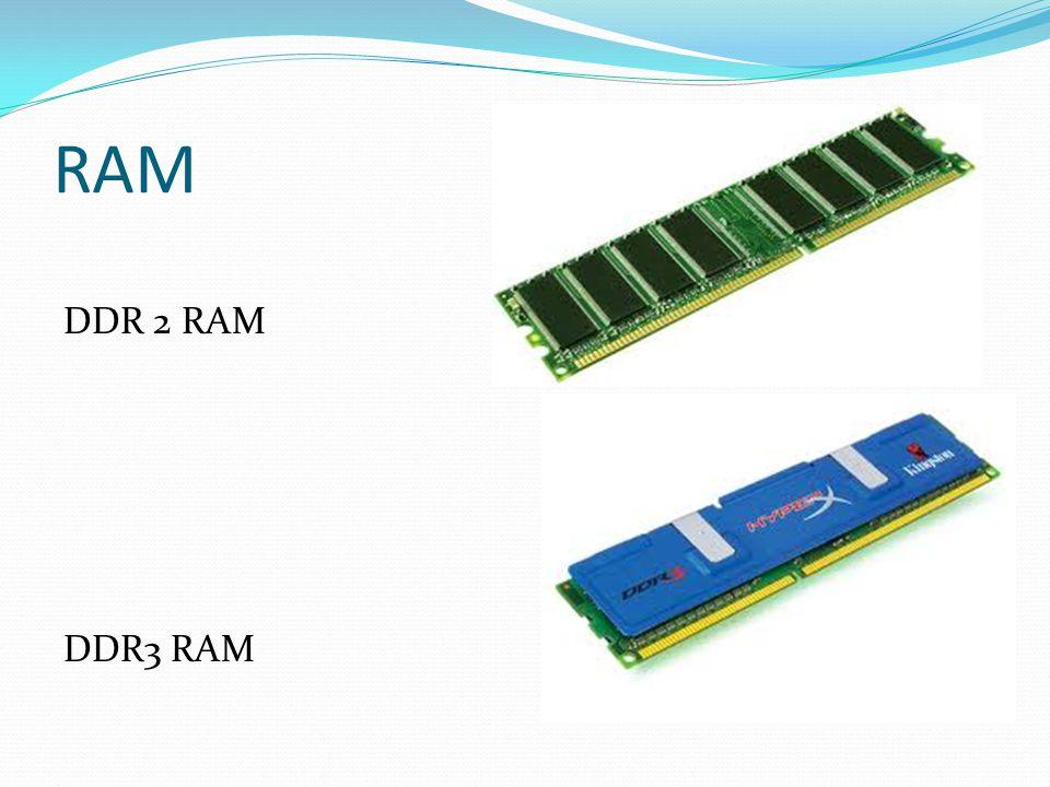 RAM DDR 2 RAM DDR3 RAM
