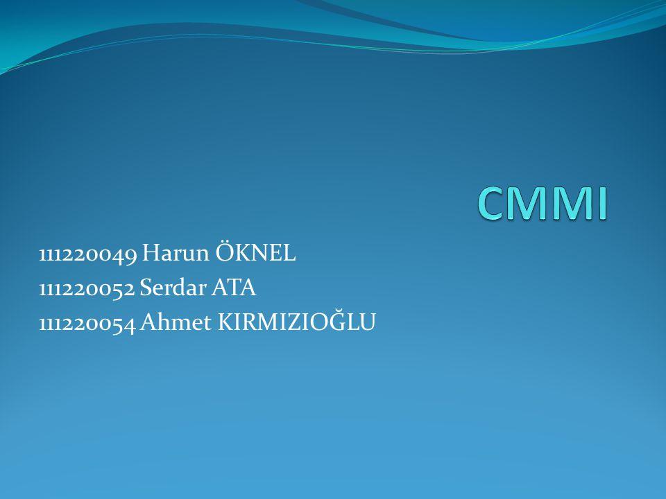 CMMI nedir.