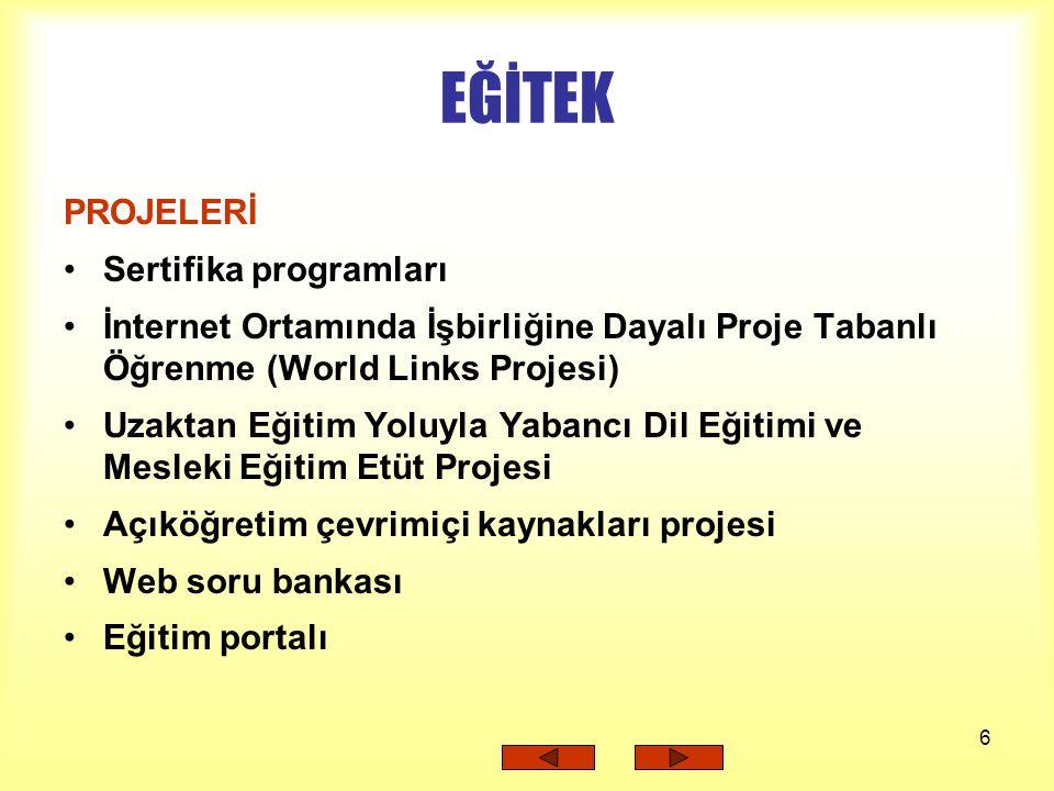 27 WEB SORU BANKASI PROJESi Henüz proje aşamasındadır.