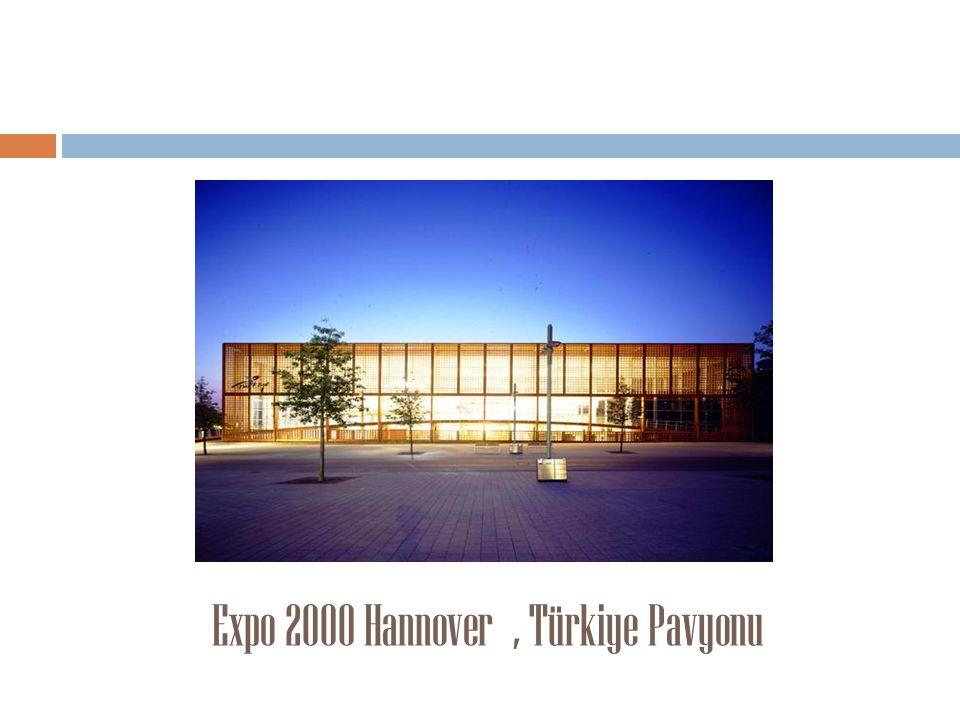 Expo 2000 Hannover, Türkiye Pavyonu