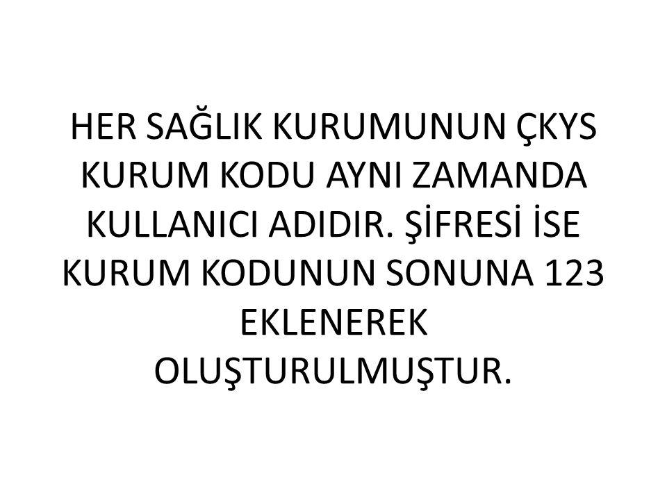 PERSONEL KARTI KURUMA ÖZELDİR.