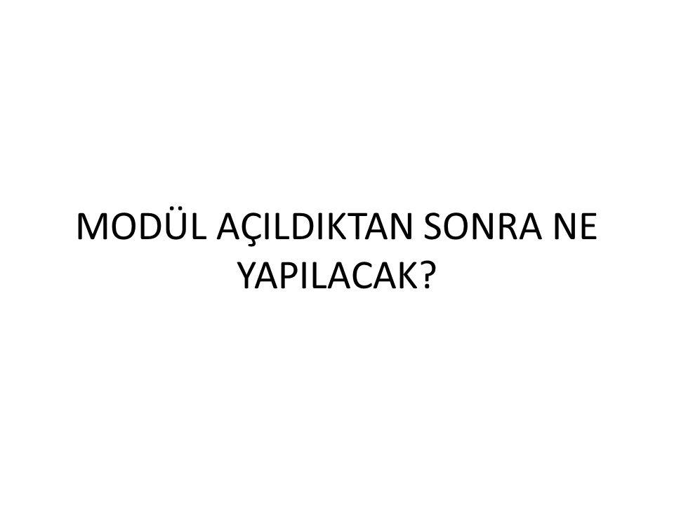 BORDRO İŞLEMLERİ BUTONUNA BASILARAK 'DÖNEM BORDRO İŞLEMLERİ' PENCERESİ AÇILIR.