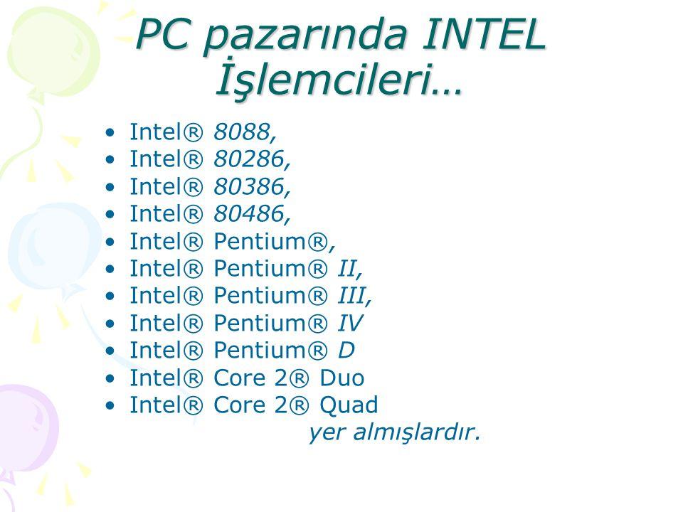 Merkezi İşlem Birimi (CPU) Bilgisayara girilen verilerin üzerinde işlem yapıldığı ve bilgisayarın bütün birimlerinin yönetildiği, matematiksel hesapla