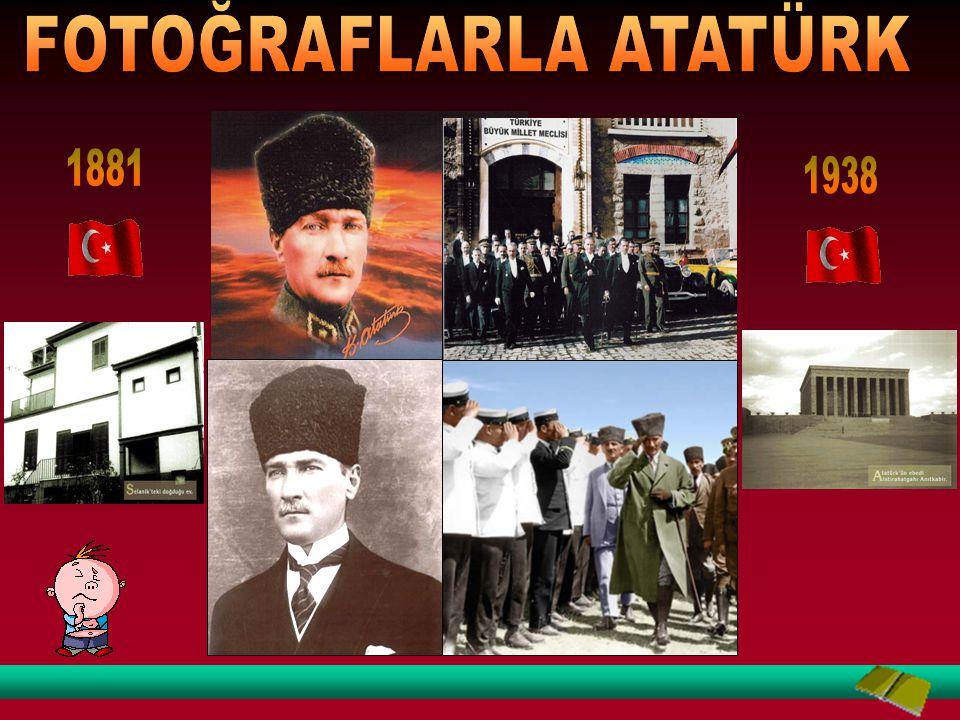 """""""Senin adın da Mustafa,benim adım da; bundan sonra senin adın """"Mustafa Kemal"""" olsun…"""""""