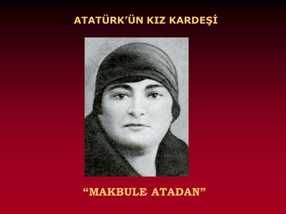 """ATATÜRK'ÜN ANNESİ """"ZÜBEYDE HANIM"""""""