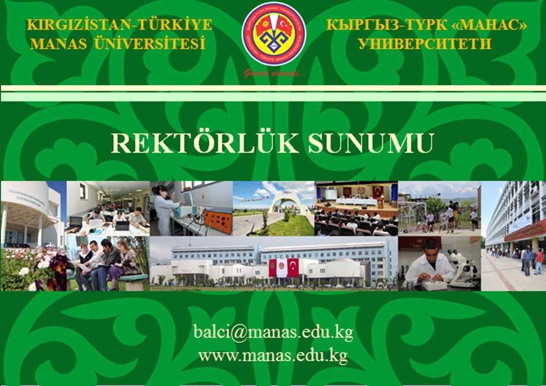 TARİH VE GELİŞİM Rektörlük Sunumu 1995201020112012 Fiziki Altyapı Kuruluş 2 Kampus 8 Fakülte 9 Fakülte (İlahiyat Fakültesi) 9 Fakülte 4 Yüksekokul (Konservatuarla Birlikte) 1 Meslek Yüksekokulu 2 Enstitü 3 Araştırma ve Uygulama Merkezi (Orta Asya Araştırma Merkezi'nin açılması kararlaştırılmıştır).