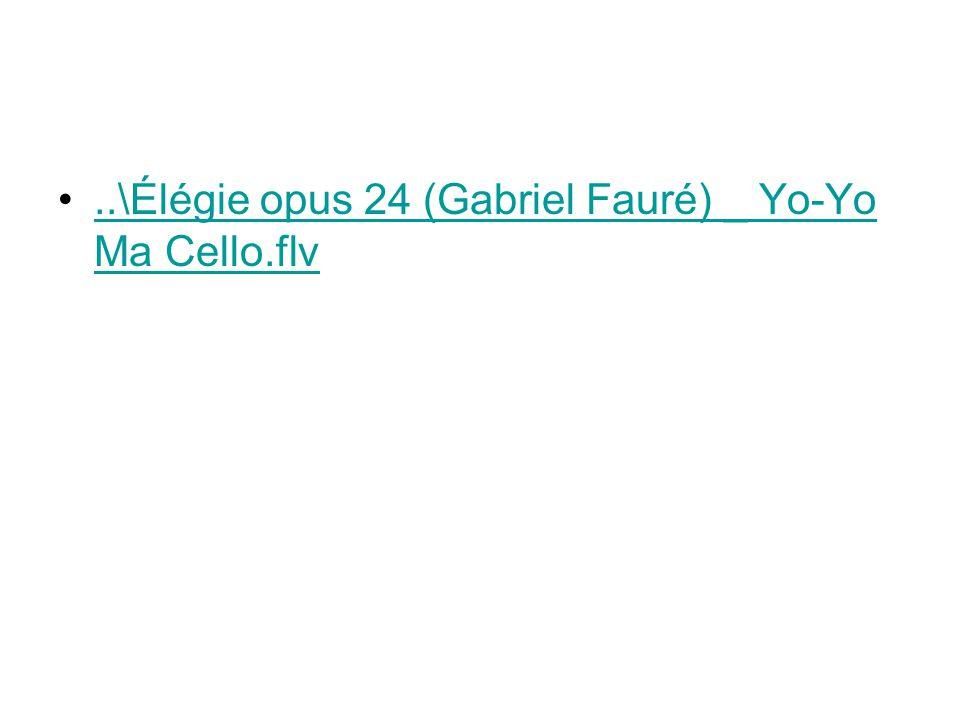 ..\Élégie opus 24 (Gabriel Fauré) _ Yo-Yo Ma Cello.flv..\Élégie opus 24 (Gabriel Fauré) _ Yo-Yo Ma Cello.flv