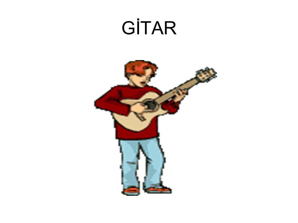 Gitar parmakla veya pena ile çalınan, esasen sekiz şekline benzeyen, yan kısımları oval, sap üzerinde ses perdeleri olan, telli bir çalgı türü.