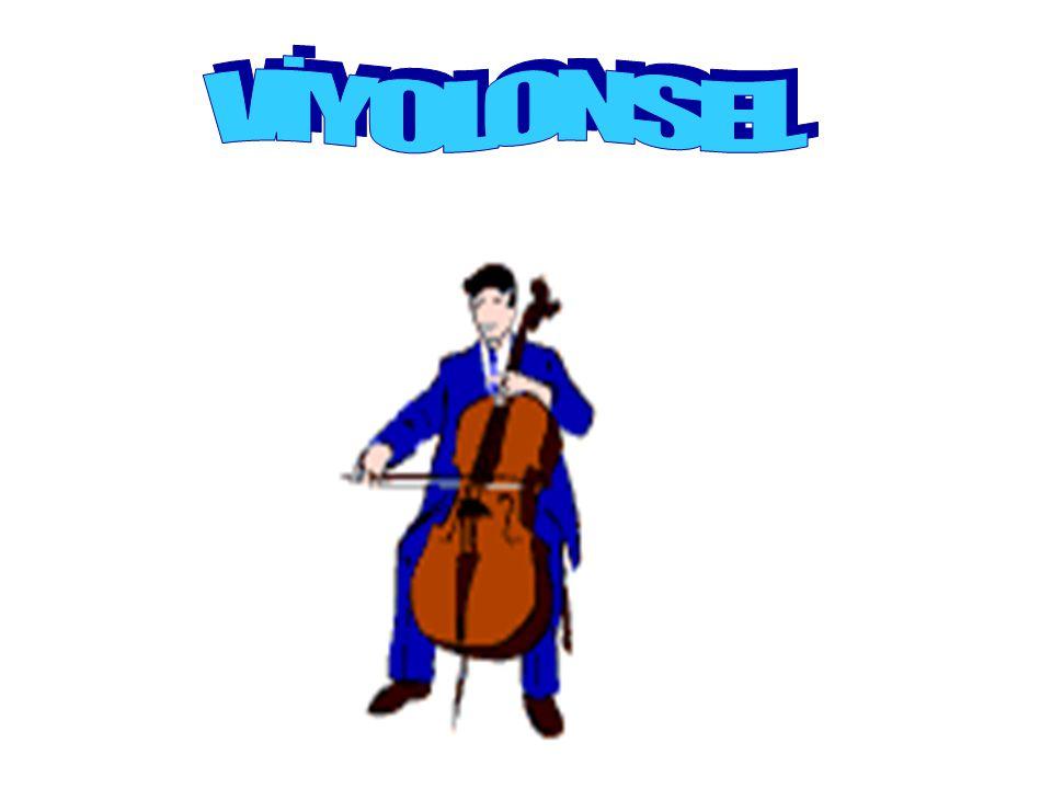 VİYOLONSEL Viyolonsel ya da çello yaylı çalgıların bir türüdür.