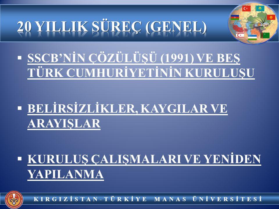 KIRGIZİSTAN-TÜRKİYE MANAS ÜNİVERSİTESİ PROF. DR.