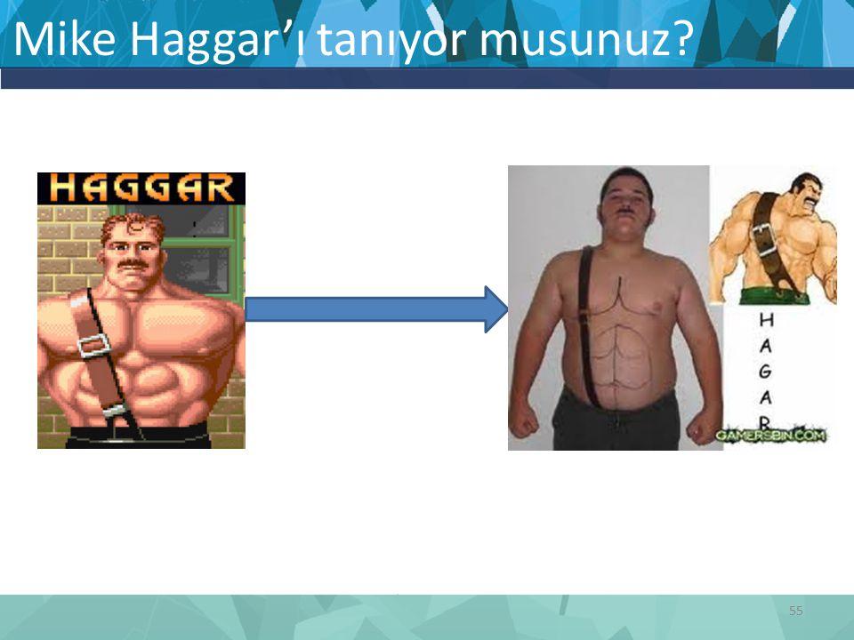 Mike Haggar'ı tanıyor musunuz? 55