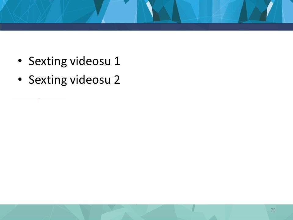 Sexting videosu 1 Sexting videosu 2 75
