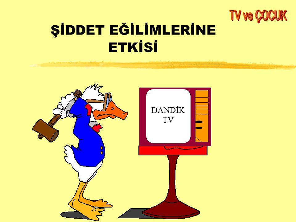 ŞİDDET EĞİLİMLERİNE ETKİSİ DANDİK TV