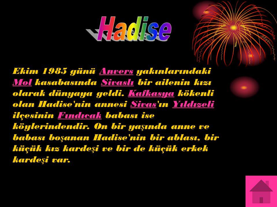 HADİSE`NİN RESİMLER