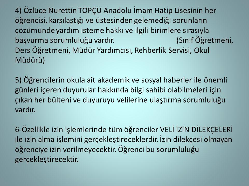 OKULUN FİZİKSEL ORTAMININ KULLANIMI 1.