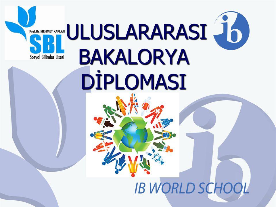 Uluslararas ı Bakalorya Diploma Programı Nedir .