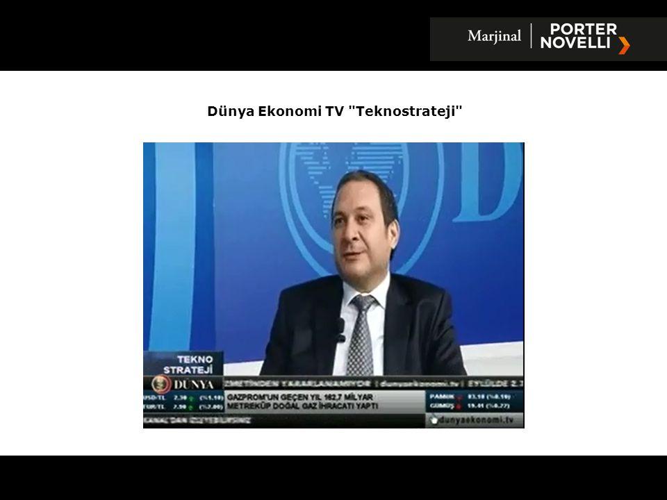 Dünya Ekonomi TV Teknostrateji