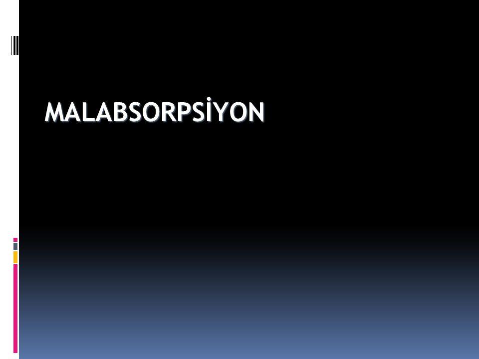 MALABSORPSİYON