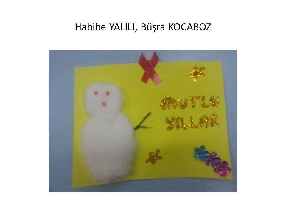 Habibe YALILI, Büşra KOCABOZ